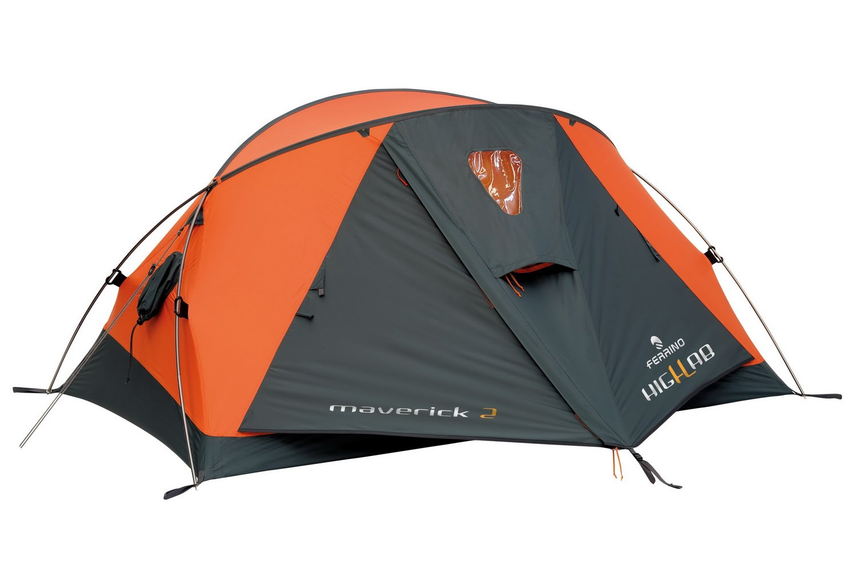 Ferrino Maverick 2 Highlab Tent, Orange, 2-Person