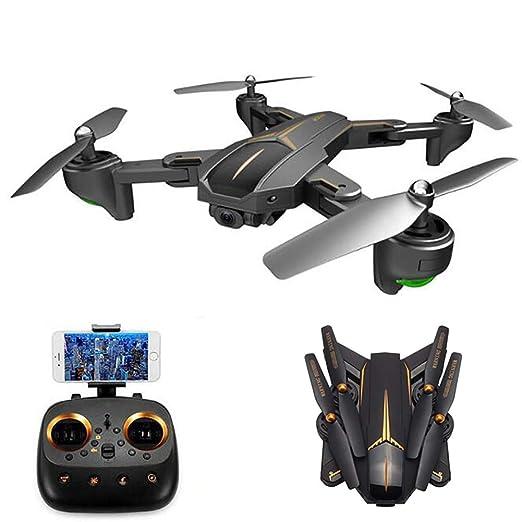 XIONGDA WiFi RC Quadcopter Drone Plegable con cámara HD para ...