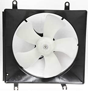 Cooling Fan Assembly Compatible with HONDA ACCORD 1994-1997/PRELUDE 1997-2001 Coupe/Sedan/Wagon) ND Brand