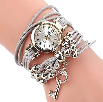 Limpieza de venta! Relojes para mujer, ICHQ para mujer, pulsera, relojes de pulsera de cuarzo casual, modernos y minimalistas, para mujeres y adolescentes: ...
