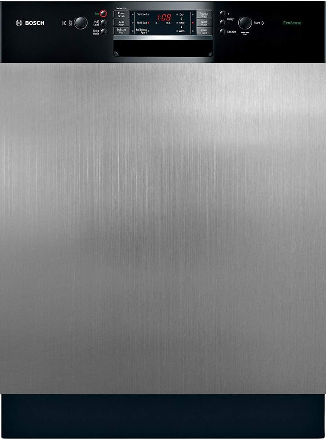 """Appliance Art Instant Stainless Large Magnet Dishwasher Cover   Easily Trimmable (23.5"""" x 30"""")"""