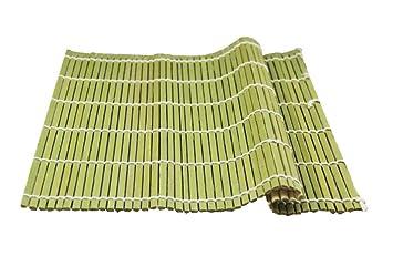 Natur Platzdeckchen aus Bambus-Rattan Isolierung Pad Sushi Schatten ...