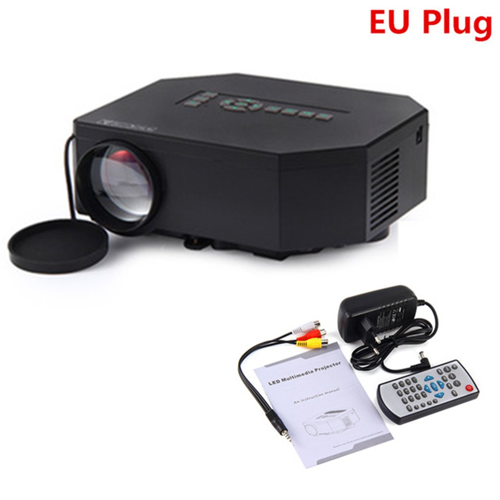 topker UNIC, UC30 móviles cine en casa 150Lumens 480 * 320 VGA USB ...