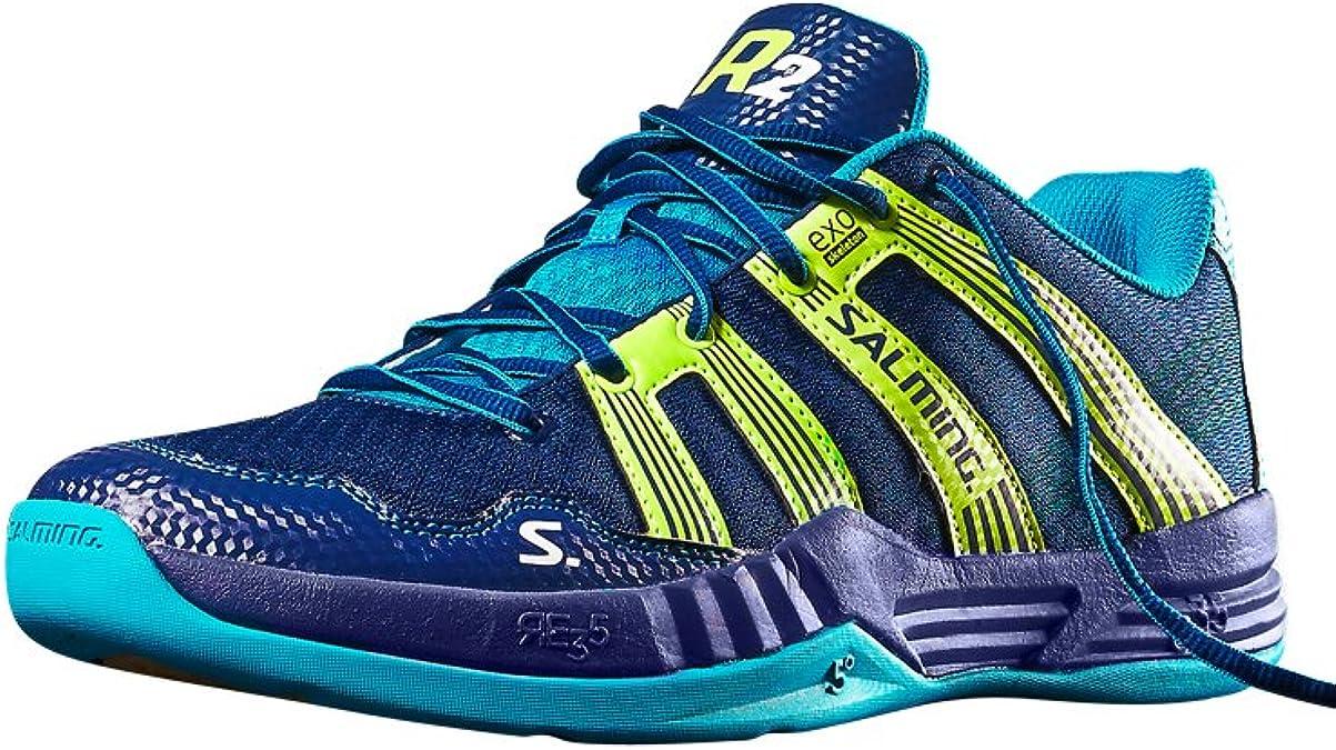 SALMING R2 2.0 Zapatilla de sala para hombre, Rojo, 46.5: Amazon.es: Zapatos y complementos