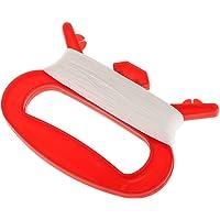 Praktische Kite Griff & 100m Drachenschnur Für Camping Angeln Outdoor-Aktivität - rot, 50m