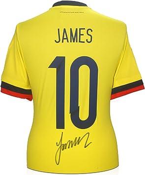 James Rodríguez firmó camiseta número 10 de fútbol británico ...