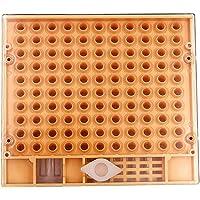B Blesiya Caja de Cultivo de Plástico de Abeja Reina Accesorios de Laboratorios Producto Comercial