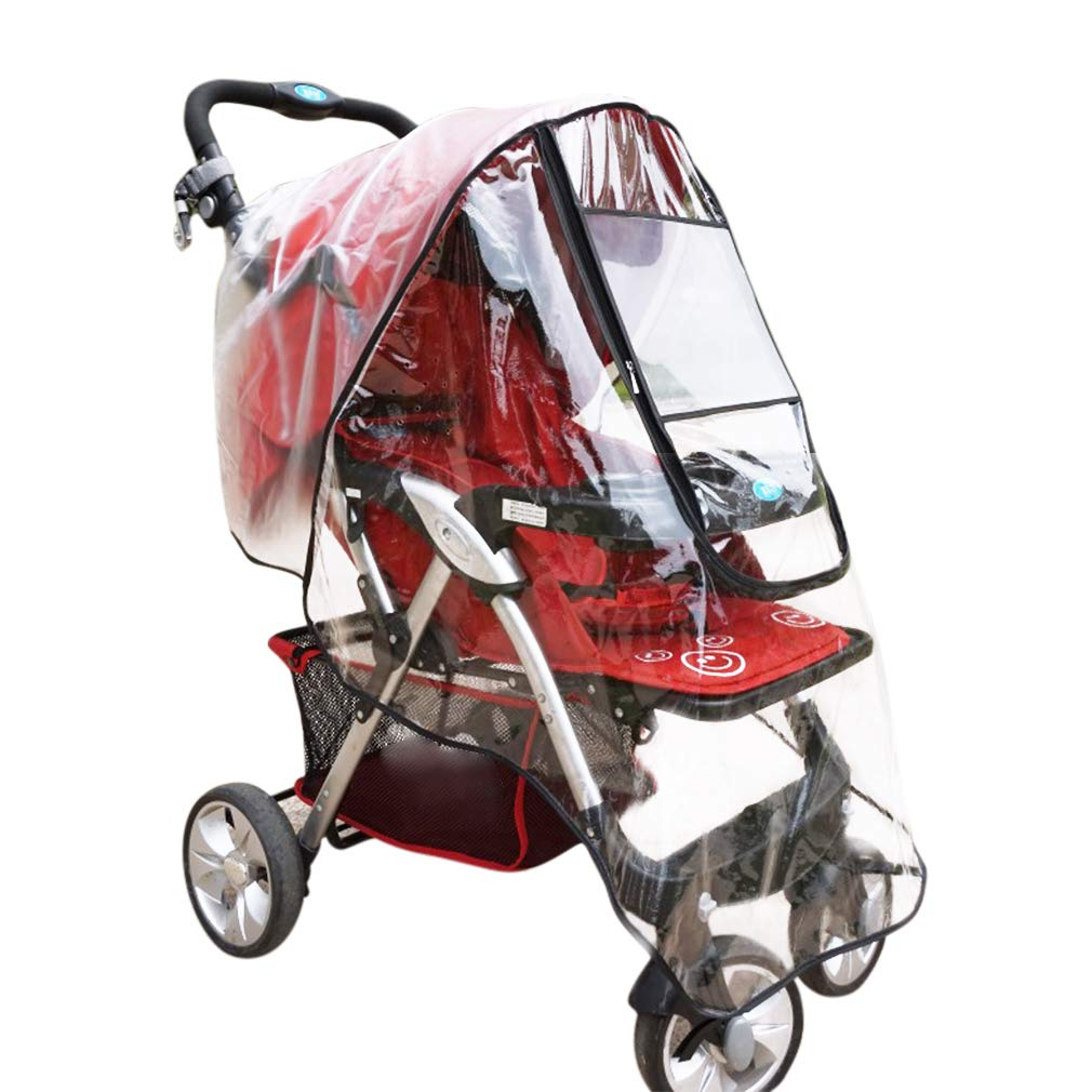 FASOTY Stroller Rain Cover Universal Baby Stroller Travel Weather Shield Waterproof Windproof Dustproof Cover for Strollers by FASOTY