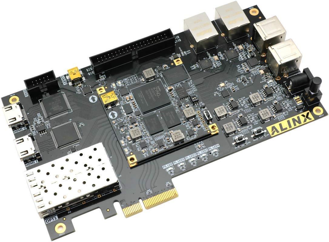 ALINX Brand Xilinx Zynq-7000 ARM/Artix-7 FPGA SoC Zynq XC7Z015 Development Board PCIe HDMI SFP Zedboard (FPGA Board) by ALINX