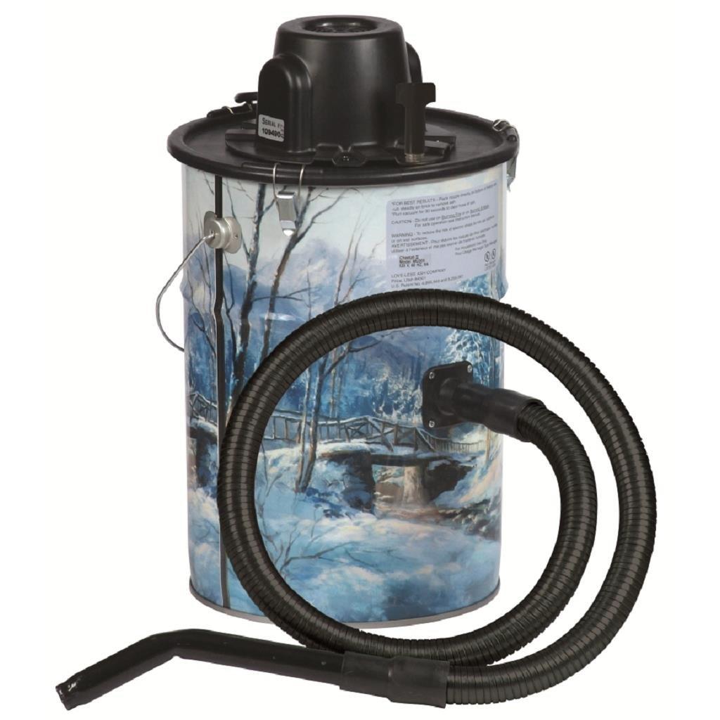 Cheetah Ash Vacuum, Winter, Made in USA by Dustless Technologies