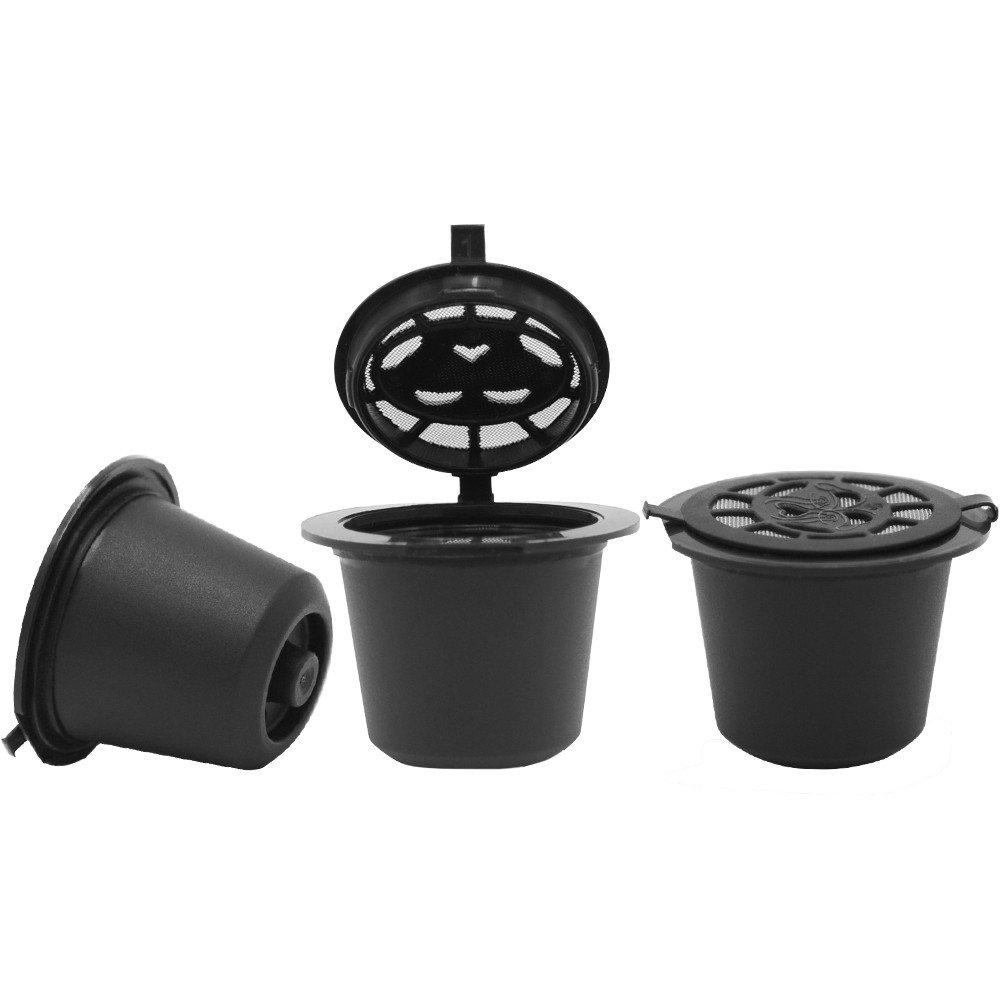 Amazon.com: Miklan Home Refillable Reusable Coffee Capsules ...