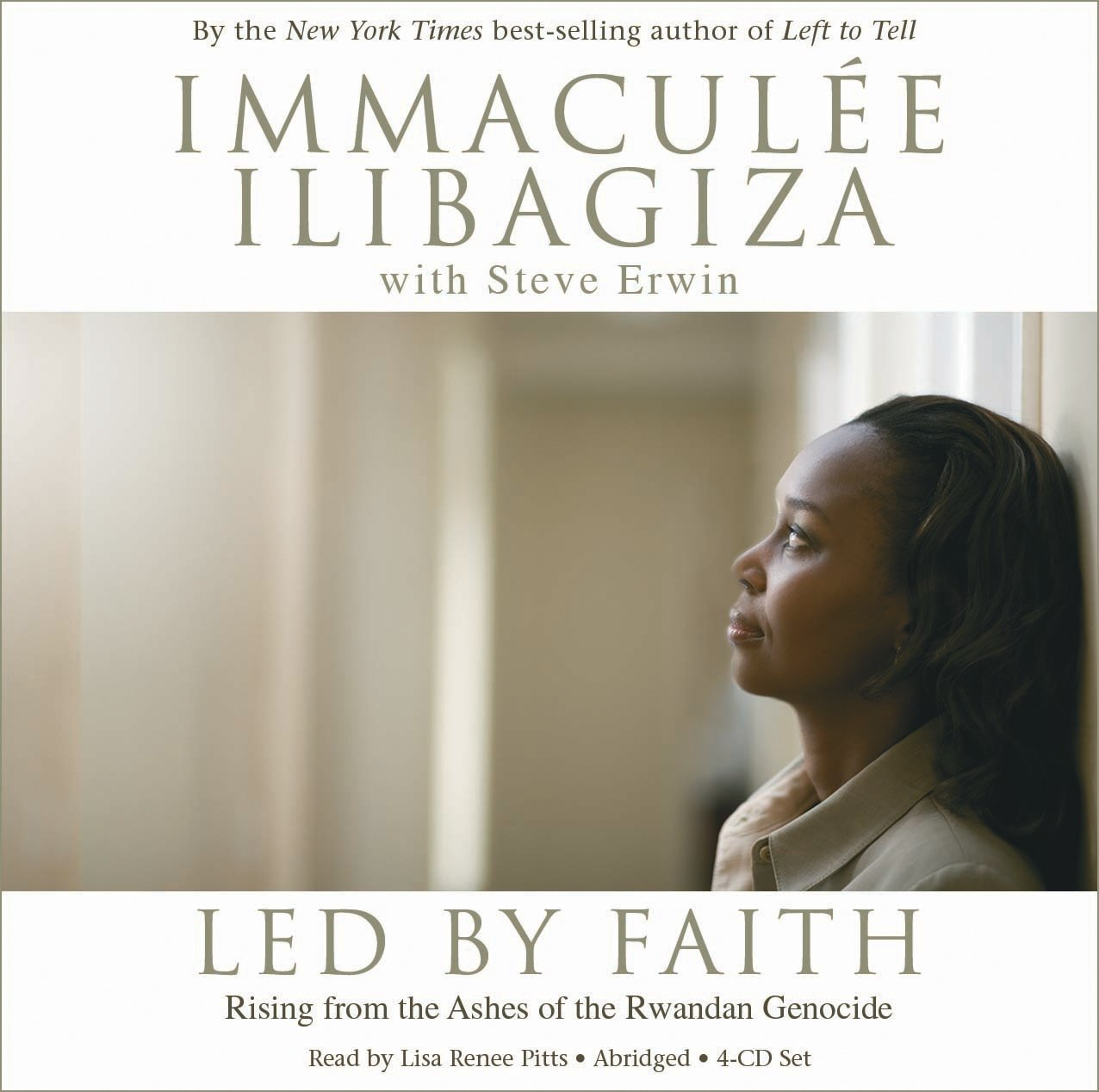 Led by Faith 4-CD set: Rising from the Ashes of the Rwandan Genocide