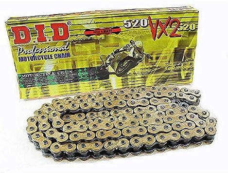 Did Kette 520 Vx2 114 Glieder X Ring Gold Offen Mit Nietschloss Auto