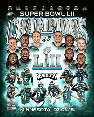Philadelphia Eagles Super Bowl 52 Champions Collage 8x10 Photo ... 55db4b9d2