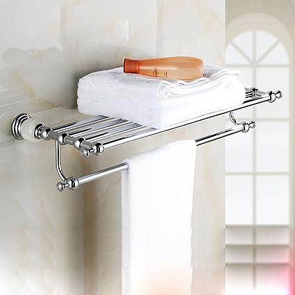 SFSYDDY-El Cuarto De Baño WC Toallero Jade Unión De Acero Inoxidable De Toallas De