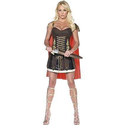 Traje de guerrera o gladiadora sexy disfraz combate mujer ...