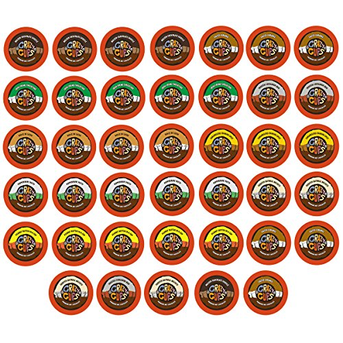 40-count Crazy Cups Seasonal Premium Hot Chocolate Single Serve Cups for Keurig K Cup Brewers Variety Pack Sampler