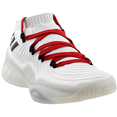 84854dd8f14a adidas Mens Sm Crazy Explosive Low 2017 Primeknit MM Athletic   Sneakers  White