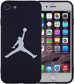 Onix Store Funda de Silicona Negra con Jugador de Baloncesto de la ...