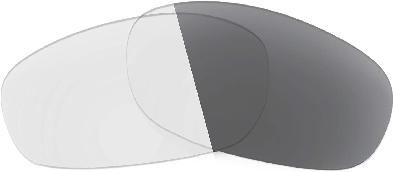 Revant Verres de Rechange pour Revo Heading RE4058 - Compatibles avec les Lunettes de Soleil Revo Heading RE4058 Photochromique Gris Adaptatif Nonpolarisés Elite