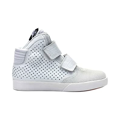 promo code a4f8b 0234e Amazon.com   Nike Mens Flystepper 2K3 PRM Action Red White Casual Sneaker    Fashion Sneakers