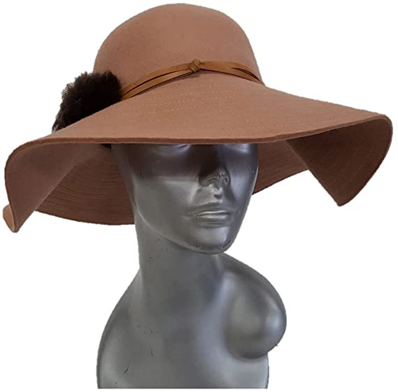 Swan Hat- Hatch Elite Packable Wide Brim 100% Wool Felt Floppy Hat (Tan 0929b3d5cef5