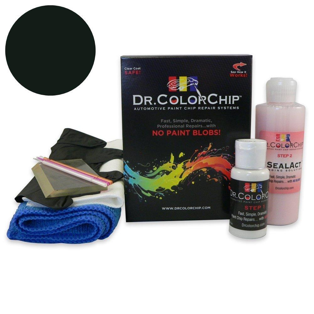 Dr. ColorChip Audi A4 Automobile Paint - Brilliant Black LY9B/A2 - Squirt-n-Squeegee Kit