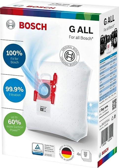 BGL3B110 BGL3B330 . tipo G Originale BBZ41FGALL 20 sacchetti per aspirapolvere per Bosch aspirapolvere GL-30 protect iony tipo G ALL di Micro safe BGL3B112