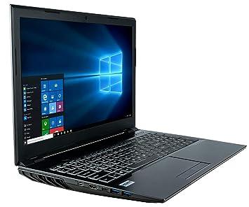 Computer Upgrade King W650 Potente computadora portátil del juego (octava generación de procesadores Intel® Core ...