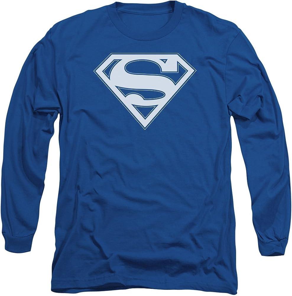 Superman Star Silhouette Adult Work Shirt