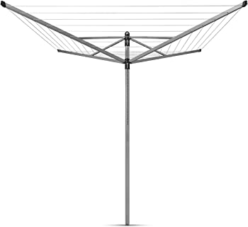 Brabantia 311048 Lift-O-Matic Rotary Dryer Clothes Line
