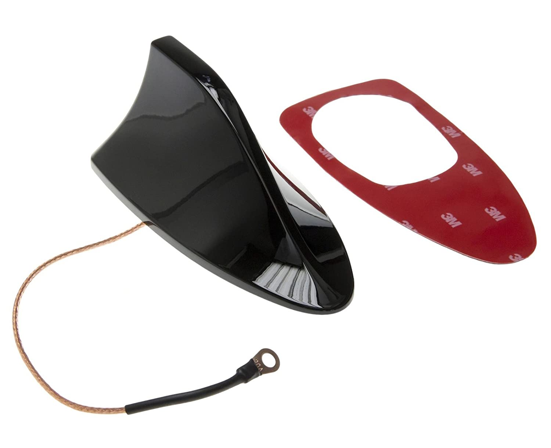 Antena tiburà ³ n techo de coche base del pie universal radio FM AM juego negro Adapter-Universe 1245