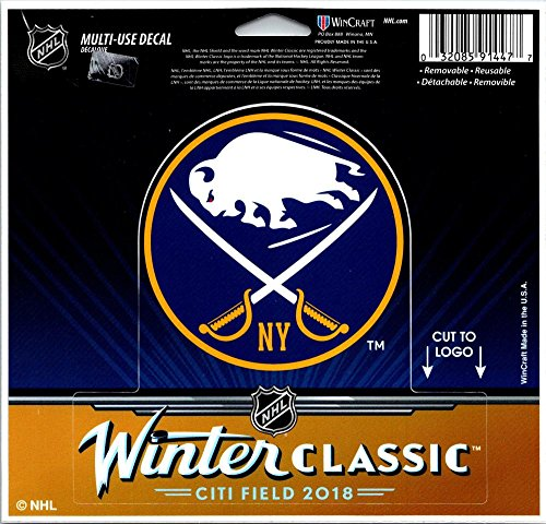 Wincraft Buffalo Sabres Winter Classic Multi-Use Decal Sticker Back 5