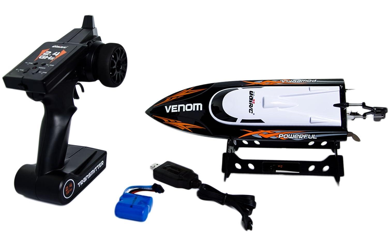 Amazon.com: Udirc 2.4GHz High Speed Remote Control Electric Boat ...