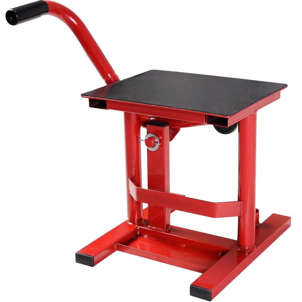 By Choice Products Dirt Bike Motorcycle Maintenance Steel Motocross Racing Adjustable Lift Stand