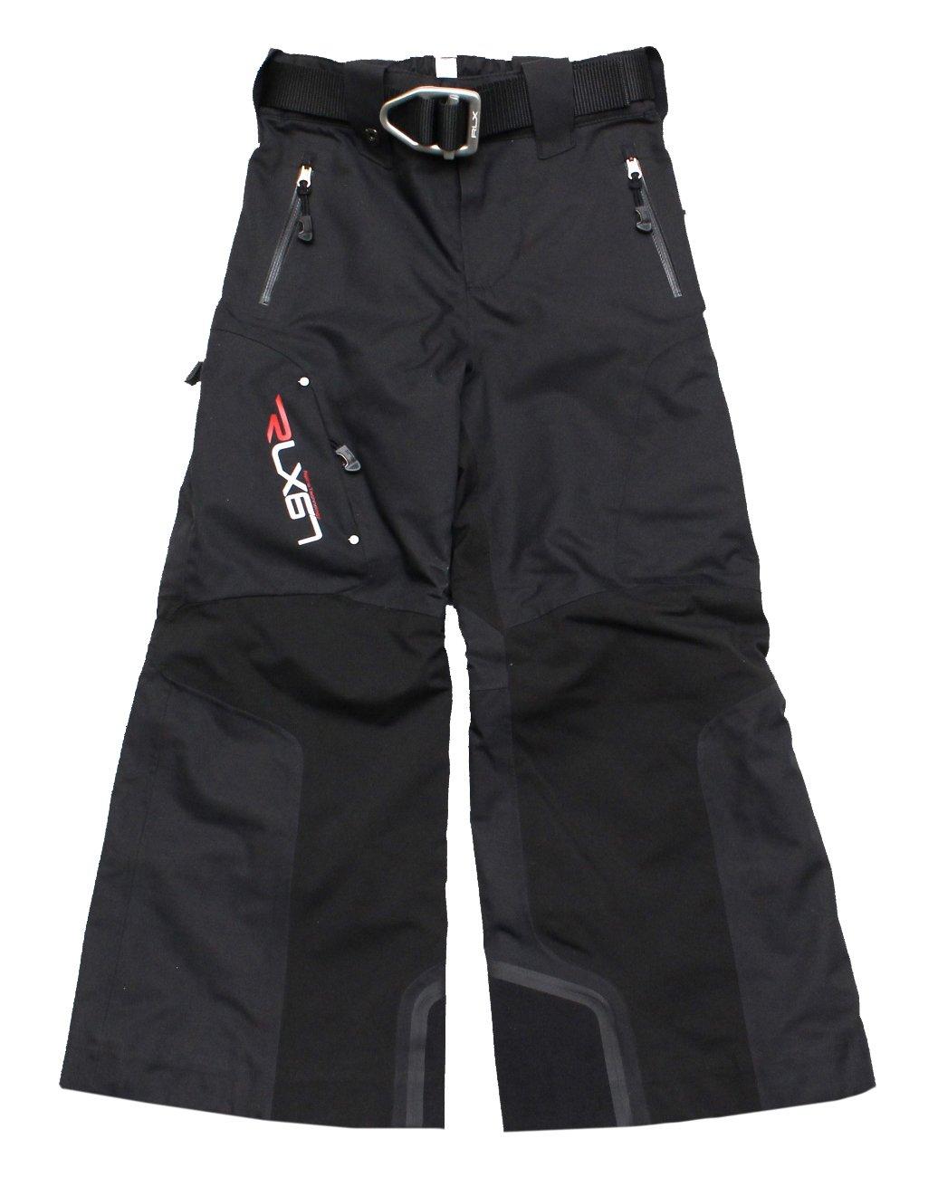 RLX Ralph Lauren Boys Ski Snow Pants, Black (Size 5) by RLX