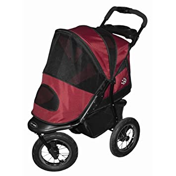 CARRIOLA para MASCOTA PET GEAR JOGGER color Burgundy