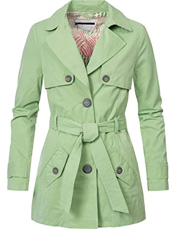 buy popular 837fa 3b5e5 Peak Time Damen Trenchcoat Übergangsjacke Mantel L60099 3 ...