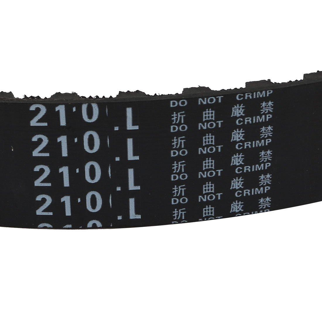 sourcing map Correas dentadas de Goma Cintur/ón engranado 533mm Per/ímetro Ancho 20mm 210L 56 Dientes de Pasos de