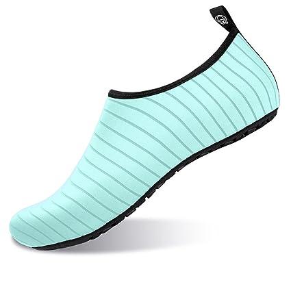 JOINFREE Women's Men's Kid Hot Springs Slip on Footwear Aqua