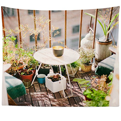 Cheap  Westlake Art Wall Hanging Tapestry - Table Balcony - Photography Home Decor..