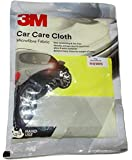 HappeStop 3M Car Care fine Microfibre Cloth with Cleaning mechanism, (3M TM - Car Care - Microfiber Cloth, Yellow)-set of 3
