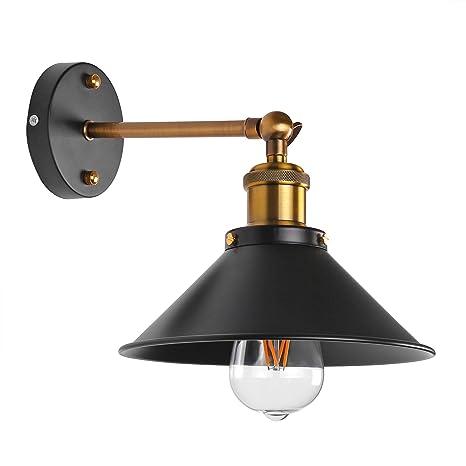 La simplicidad ONEVER la lámpara de pared Industrial Edison luz del aplique de Crianza