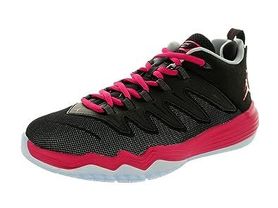 4c4238a6a3a6df Jordan Nike Kids CP3.IX GG Black Sports Fuchsia Wolf Grey Basketball Shoe