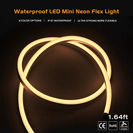 Led Strip Lights Christmas Lights Tape Lights Neon Lights Waterproof Super Bright Led Rope Lights For Christmas Outdoor Indoor Hotel Garden Ship Floor