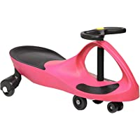 Keezi Ride On Swing Car Toy Wiggle Scooter Car-Pink