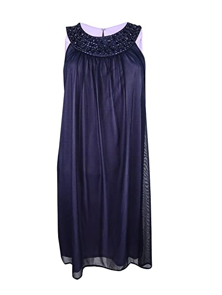 3936d41bc5c Jessica Howard Womens Embellished Sheer Cocktail Dress at Amazon Women s  Clothing store