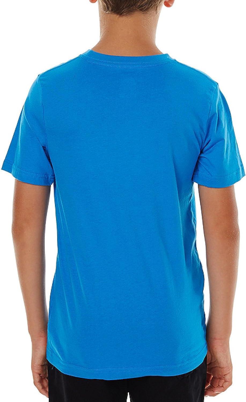 Nike SB Boys T-Shirt Iconic Nike Big Swoosh Light Photo Blue Ages 8-15 Years