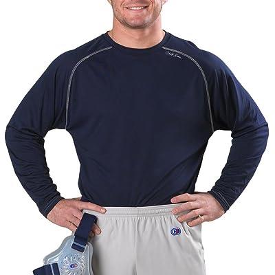 Cliff Keen MXS Loose Gear Long Sleeve Technical Shirt - XL - Navy