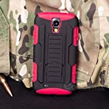 Galaxy S4 Mini Case, Cocomii® [HEAVY DUTY] Galaxy S4 Mini Robot Case **NEW** [ULTRA FUTURE ARMOR] Premium Belt Clip Holster Kickstand Bumper Case - Full-body Rugged Protective Cover for Samsung Galaxy S4 Mini (Black/Red) ★★★★★